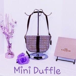 💯 Authentic Coach Mini Duffle Bag F3K-4771
